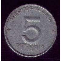 5 пфеннигов 1952 год Германия
