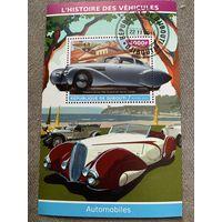 Джибути 2015. Автомобили. Hispano-Suiza H6B 1938. Блок