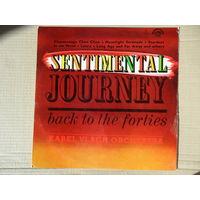 Karel Vlach Orchestra - Sentimental Journey. Back to the forties - Supraphon, Чехословакия - 1974 г.