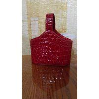 Корзинка из искусственной кожи сувенирная 125х50х150