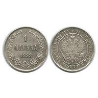 Финляндия. 1 марка 1892 г.