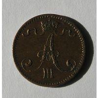 Русс. Финляндия 1 Пенни 1891 (105)