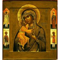 Икона Феодаровская Божья матерь. Красота.