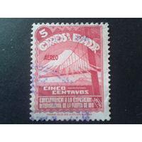 Эквадор 1939 золотая гора