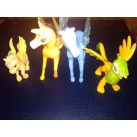 Летающие лошадки и грифон