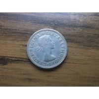Великобритания 1 шиллинг 1958
