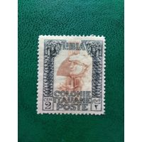 ЛИВИЯ. Итальянская колония. 1921 год.