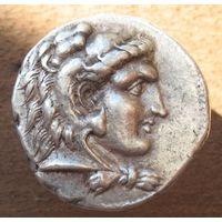 Птолемей I Сотер, как сатрап Египта (323 - 305 г.г. до н. э.). Тетрадрахма.