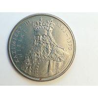 """100 злотых 1987 года. Польша. """"Король Казимир 3 III Великий"""". Монета А1-6-2"""