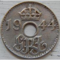15. Британская новая Гвинея 3 пенса 1944 год