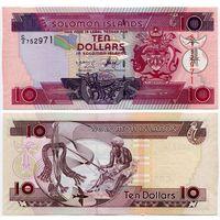 Соломоновы острова. 10 долларов (образца 2006 года, P27, UNC)