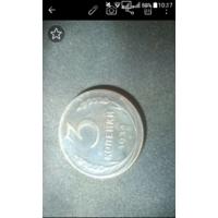 Монета 3 копейки 1924 год