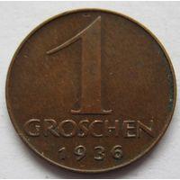 Австрия 1 грош 1936