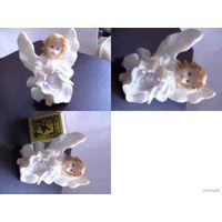 Статуэтка: ангел с трубой.  распродажа