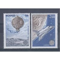 [855] Монако 1983. Авиация,космонавтика.Воздушный шар. EUROPA.Европа.