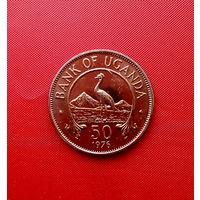 95-13 Уганда, 50 центов 1976 г.