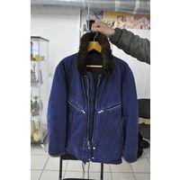 Утеплённая куртка лётчика ВВС СССР со всеми рабочими замками и кнопками. р.50-з.