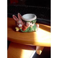 Заяц с корзиной