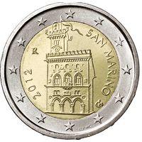 2 евро 2012 Сан-Марино UNC из ролла
