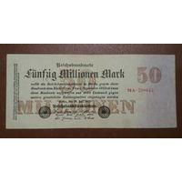 Германия / 50 millionen mark / 1923 год / Ro-97 (b)