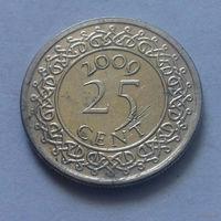 25 центов, Суринам 2009 г.
