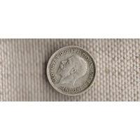 Великобритания 3 пенса 1936 Георг VI (Sp)