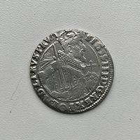Монета Орт 1/4 талера 1624 г. Польша Сигизмунд lll