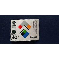 Марка Польша 1988 год. Международный год графического дизайна