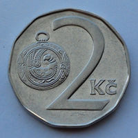 Чехия 2 кроны. 1994