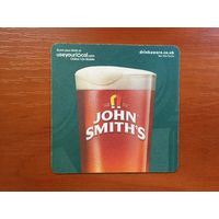 Подставка под пиво John Smith's /Великобритания/