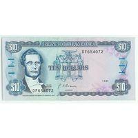 Ямайка, 10 долларов 1991 год.