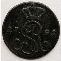 Польша 1 грош 1795