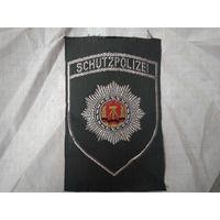 Шеврон Германия ГДР полиция