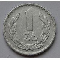 Польша 1 злотый, 1975 г.