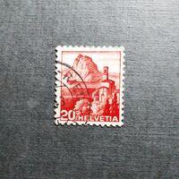 Марка Швейцария 1948 год Стандартный выпуск