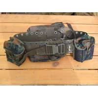 Немецкая армейская военная полевая сумка-разгрузка камуфляж felktran