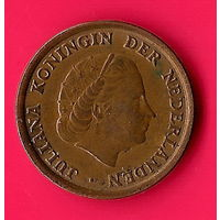 30-18 Нидерланды, 1 цент 1966 г
