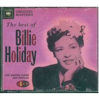 4CD  Billie Holiday - The Best Of Billie Holiday: The Master Takes And Singles (2008) Swing