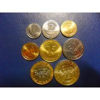 Центральная Африка 8 монет одним лотом