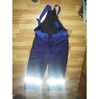 Зимние штаны, из комплекта спецодежды, на рост 175-180. Обхват талии 104-108. Подстёжка. Новые.