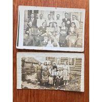 2 фото Западная Беларусь до 1939, сельский быт
