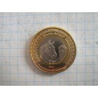 Французский судан 1 франк 2014г.