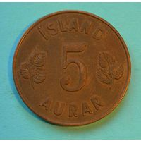 5 аурар 1946. Исландия