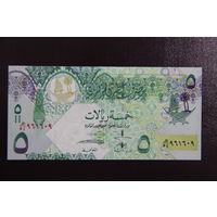 Катар 5 реалов 2008 UNC