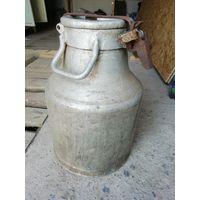 Бидон алюминиевый 40 литров бочка фляга ёмкость
