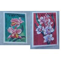 Флора Цветы Вьетнам 1984 год **