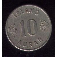 10 аурар 1953 год Исландия