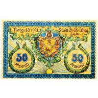 РАСПРОДАЖА!!! - ГЕРМАНИЯ ГРАВЕНТАЛЬ (ТЮРИНГИЯ) 50 пфеннигов 1921 год - РЕДКИЙ! - UNC!