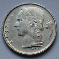 Бельгия, 1 франк 1972 г. 'BELGIQUE'