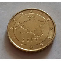 10 евроцентов, Эстония 2011 г.